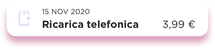 Ricarica telefonica